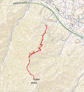 山野坂岳28年5月15日
