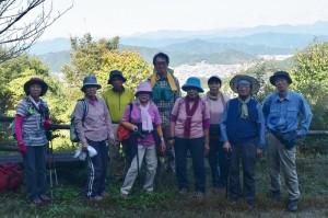 山2016-10-27百々ヶ峰